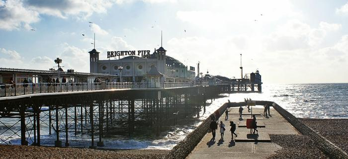 Brighton Pier jest jednym z najbardziej charakterystycznych punktów Bringhton i jego ważną atrakcją turystyczną