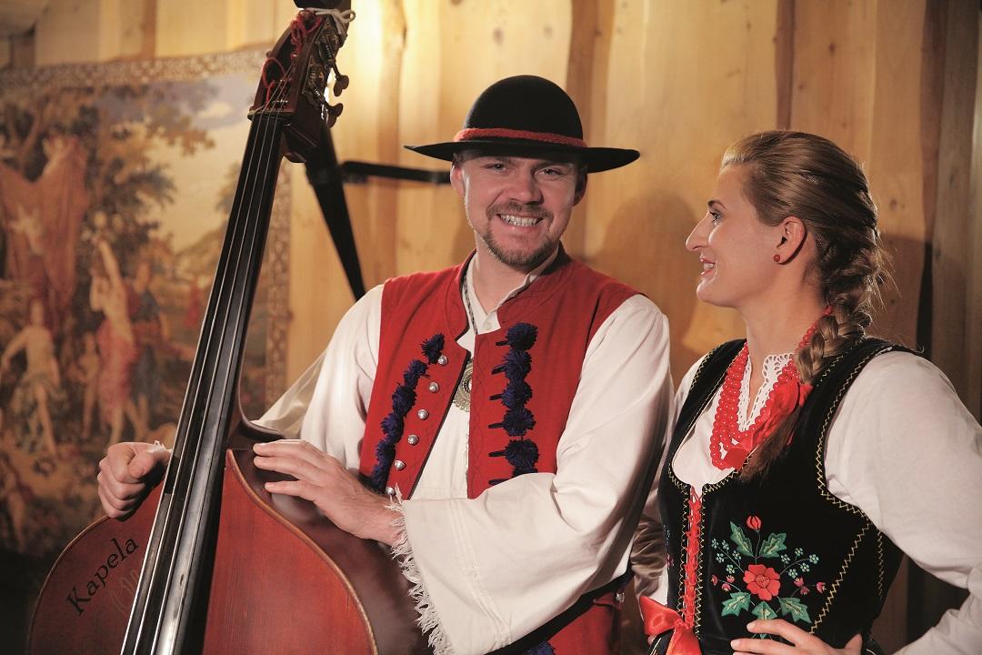 Muzycy kapeli Karpackie Zbóje z Żywca