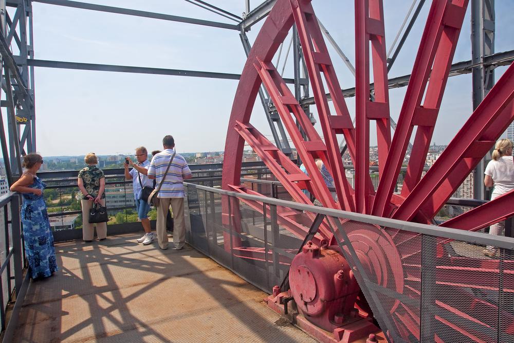 Muzeum Śląskie - wieża widokowa