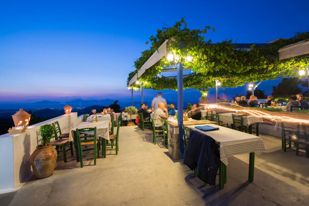 Wioska Zia na greckiej wyspie Kos